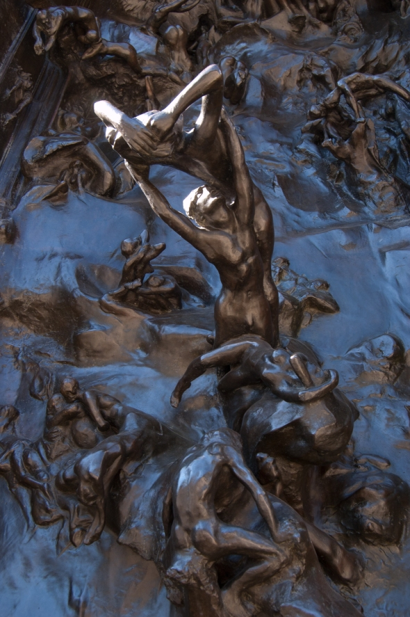 Gates of Hell (detail) by Auguste Rodin. Photography by Rebekkah Hilgraves